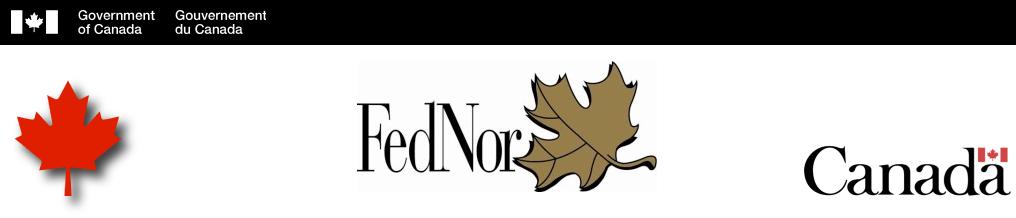 FedNor banner logo