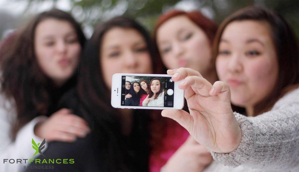Fort Frances Ontario selfie