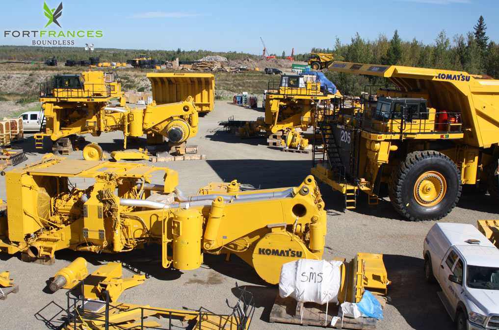 NewGold equipment and machinery Rainy River Project
