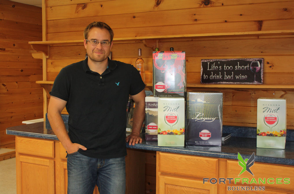 Josh Leatherdale Fort Frances business owner of Cheers