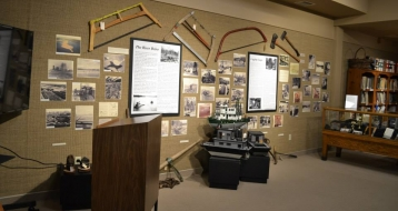 Fort Frances Museum heritage exhibit