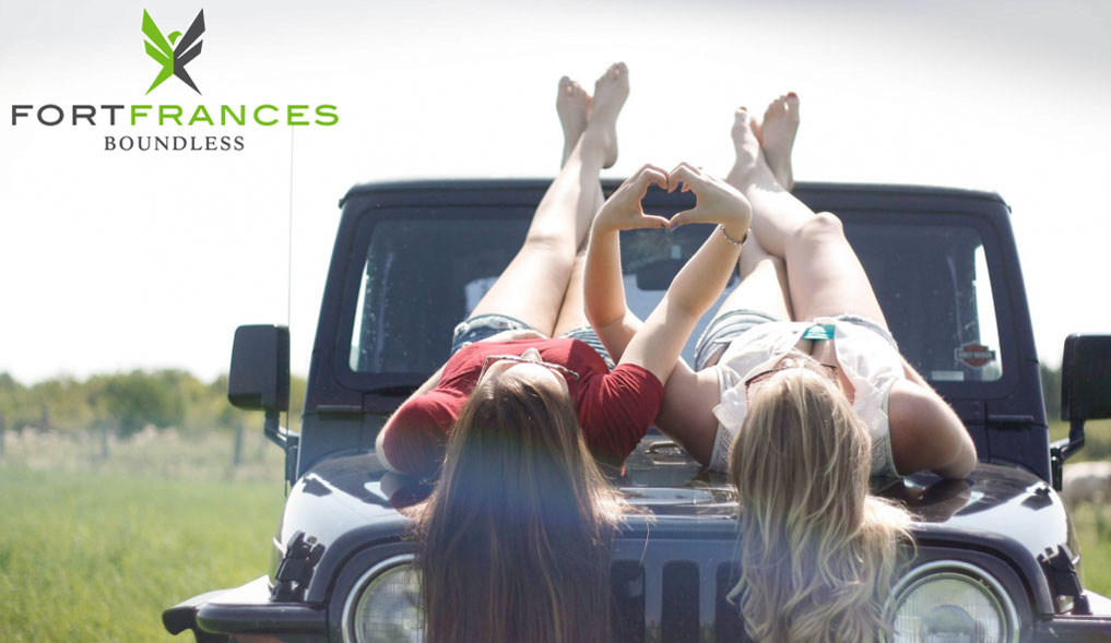 Best friends road trip to Fort Frances Ontario