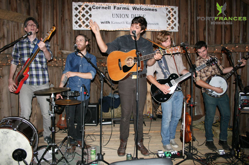 Union Duke perform Cornell Farms barn concert