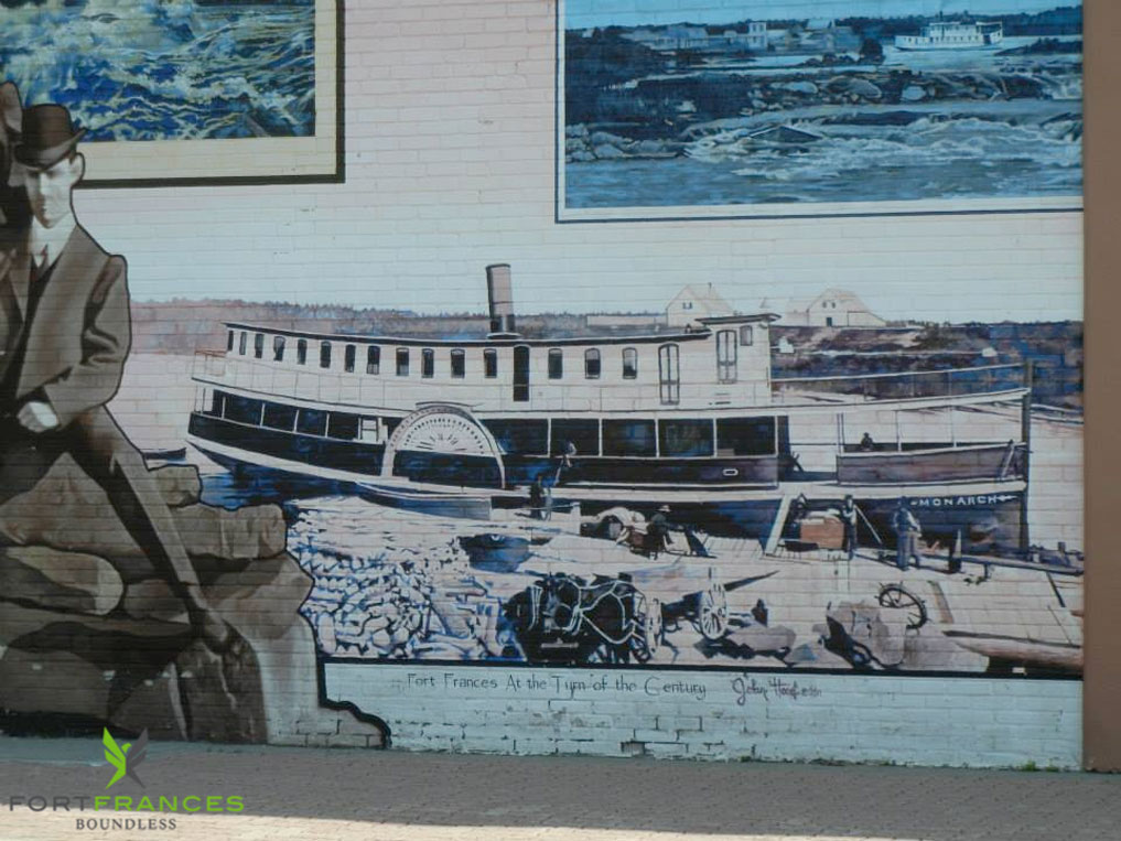Heritage tour history of Fort Frances