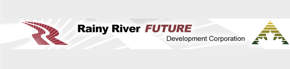 Rainy River Future Development Corporation logo banner