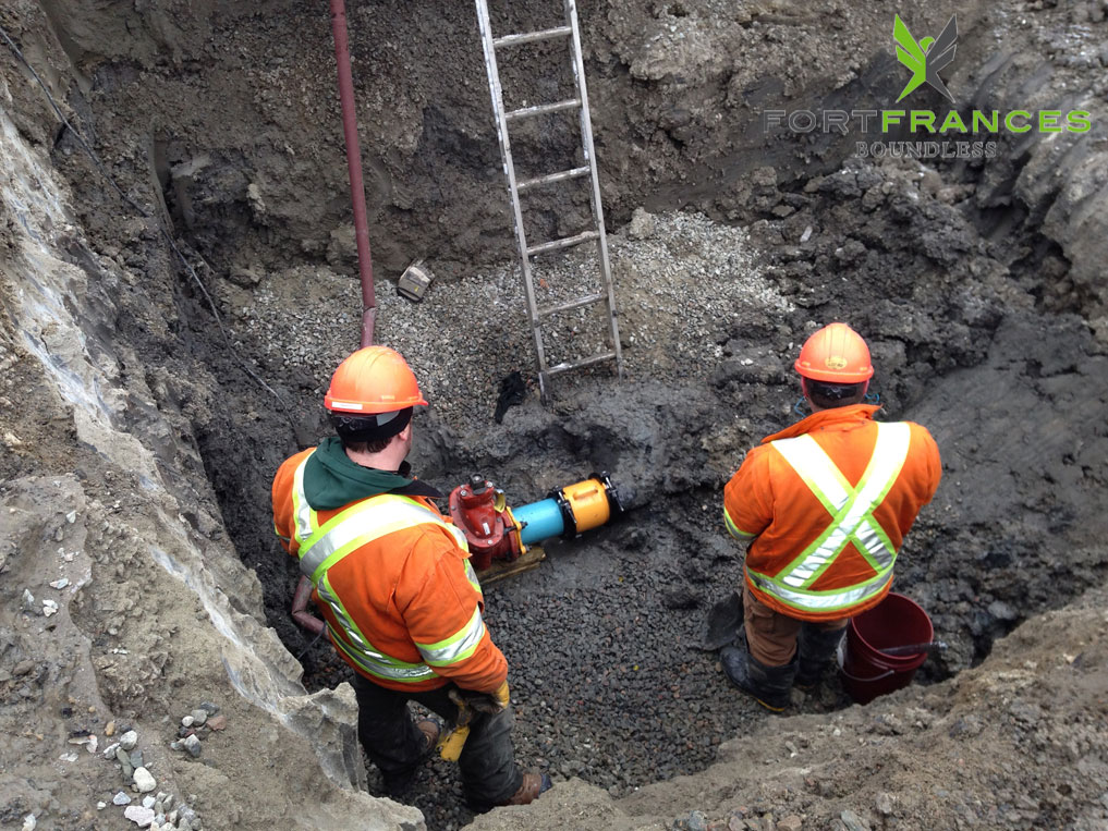 Water and sewer maintenance workers