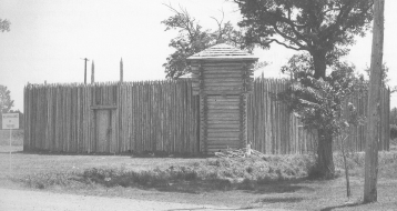 The old fort in Fort Frances